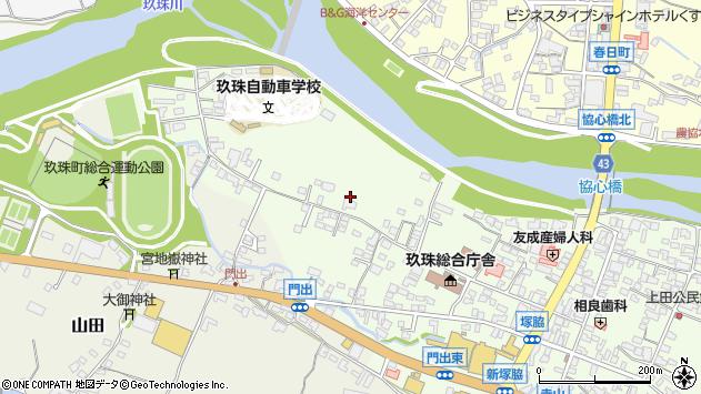 大分県玖珠郡玖珠町塚脇104周辺の地図