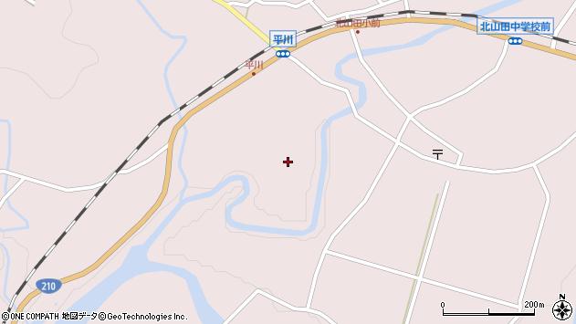 大分県玖珠郡玖珠町戸畑矢園周辺の地図