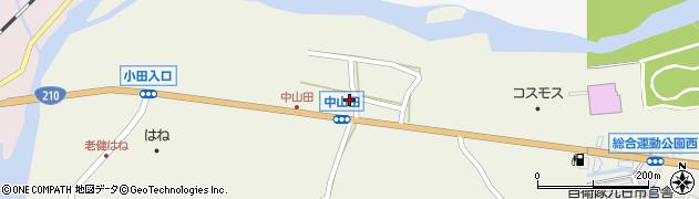 大分県玖珠郡玖珠町山田2536周辺の地図
