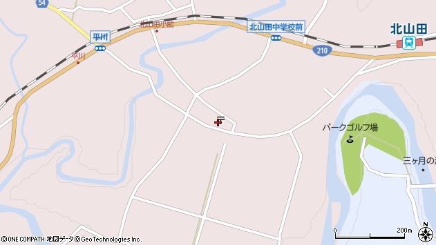 大分県玖珠郡玖珠町戸畑6487周辺の地図
