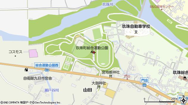大分県玖珠郡玖珠町山田90周辺の地図