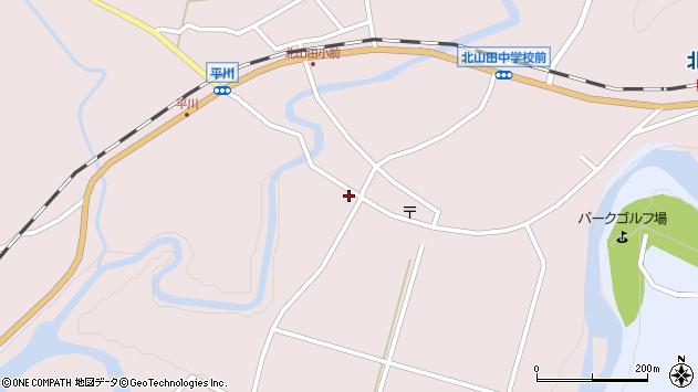 大分県玖珠郡玖珠町戸畑6433周辺の地図