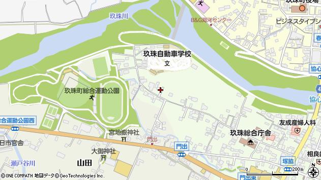 大分県玖珠郡玖珠町塚脇田中周辺の地図