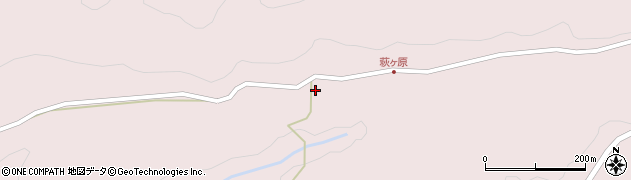 大分県玖珠郡玖珠町戸畑9311周辺の地図