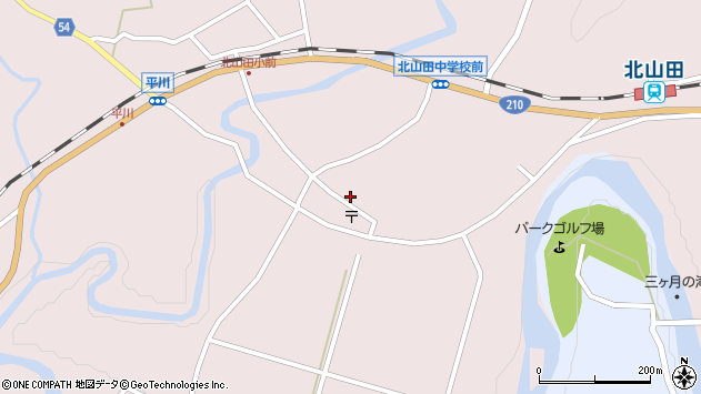 大分県玖珠郡玖珠町戸畑6499周辺の地図