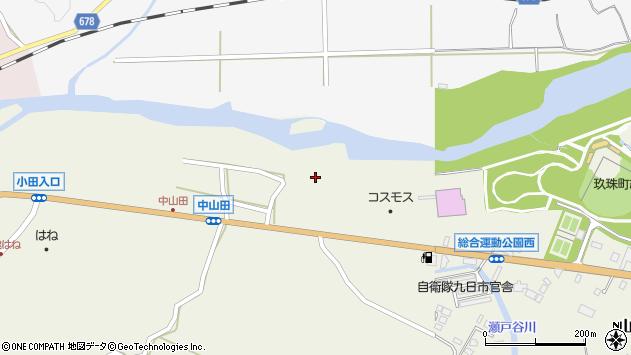 大分県玖珠郡玖珠町山田2545周辺の地図