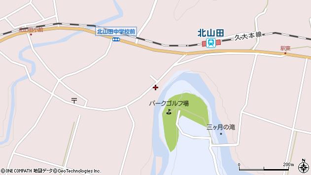 大分県玖珠郡玖珠町戸畑6529周辺の地図