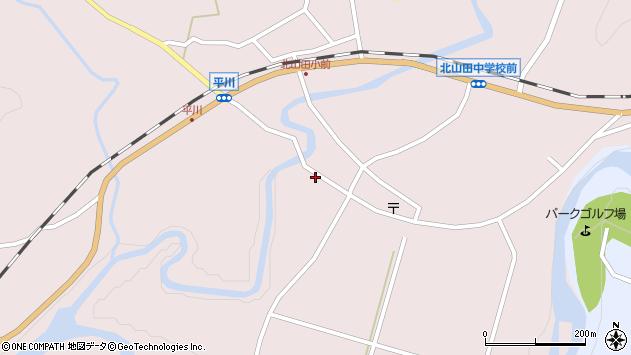 大分県玖珠郡玖珠町戸畑6417周辺の地図