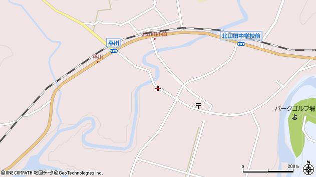 大分県玖珠郡玖珠町戸畑6432周辺の地図