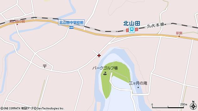 大分県玖珠郡玖珠町戸畑6527周辺の地図