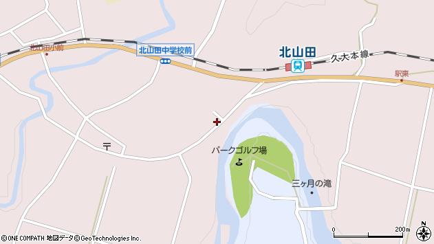 大分県玖珠郡玖珠町戸畑6530周辺の地図