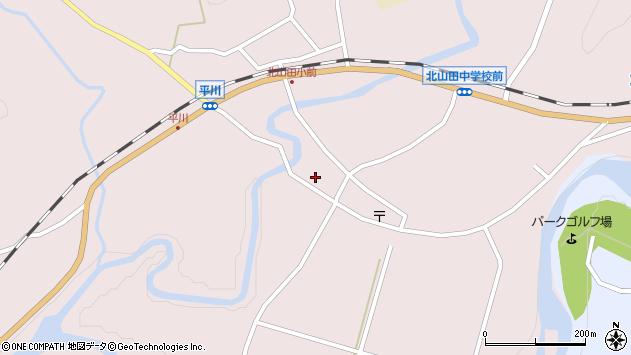 大分県玖珠郡玖珠町戸畑6423周辺の地図