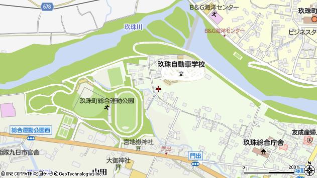 大分県玖珠郡玖珠町塚脇61周辺の地図
