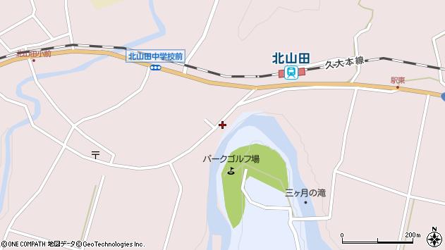 大分県玖珠郡玖珠町戸畑6489周辺の地図