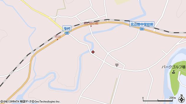 大分県玖珠郡玖珠町戸畑2425周辺の地図