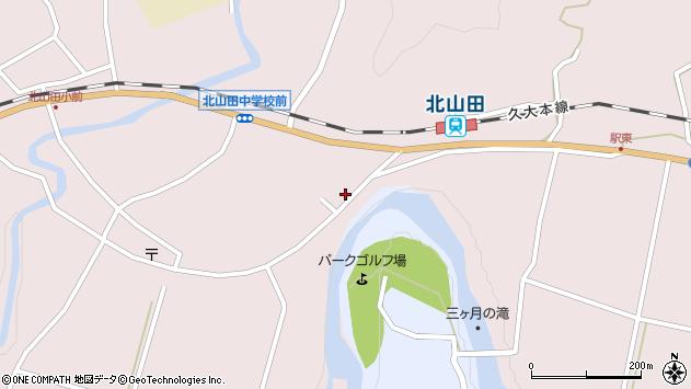 大分県玖珠郡玖珠町戸畑6531周辺の地図