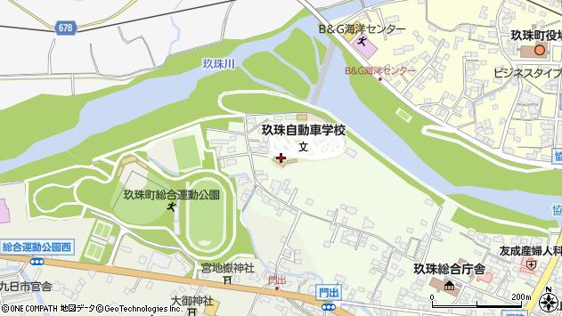 大分県玖珠郡玖珠町塚脇52周辺の地図