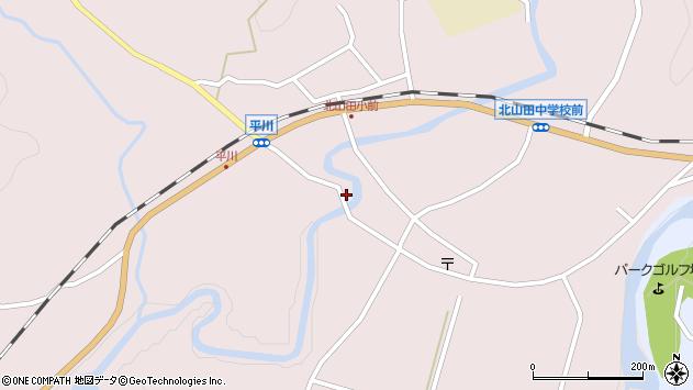 大分県玖珠郡玖珠町戸畑6342周辺の地図