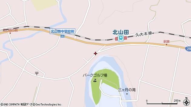 大分県玖珠郡玖珠町戸畑6535周辺の地図
