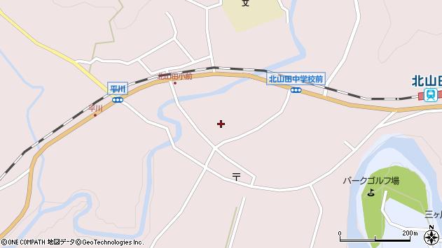 大分県玖珠郡玖珠町戸畑6389周辺の地図