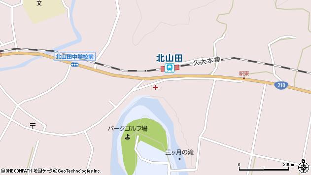 大分県玖珠郡玖珠町戸畑1649周辺の地図