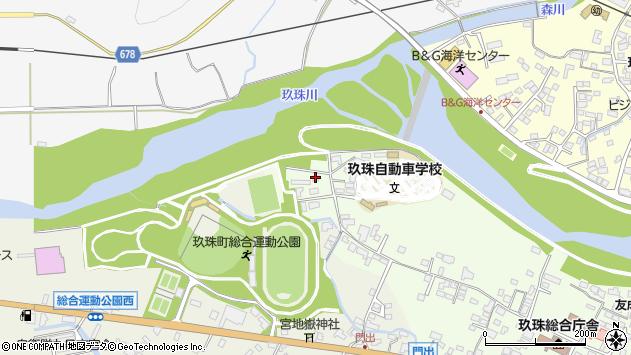 大分県玖珠郡玖珠町塚脇28周辺の地図
