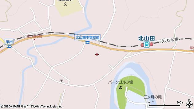大分県玖珠郡玖珠町戸畑6517周辺の地図