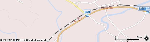 大分県玖珠郡玖珠町戸畑6271周辺の地図