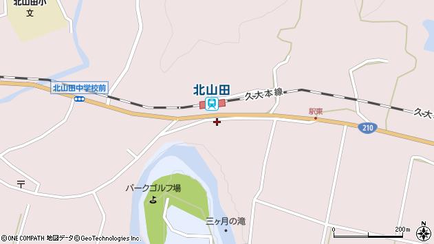大分県玖珠郡玖珠町戸畑1646周辺の地図