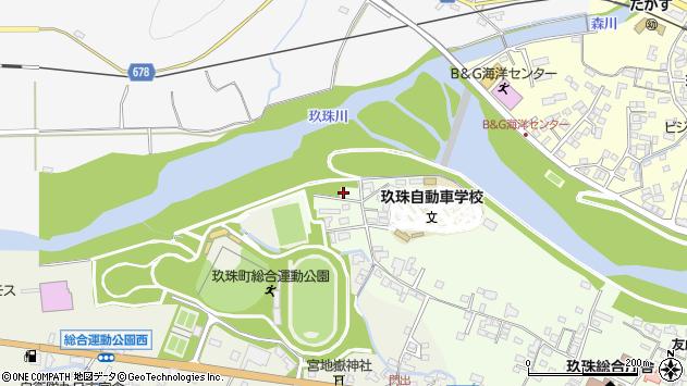 大分県玖珠郡玖珠町塚脇38周辺の地図