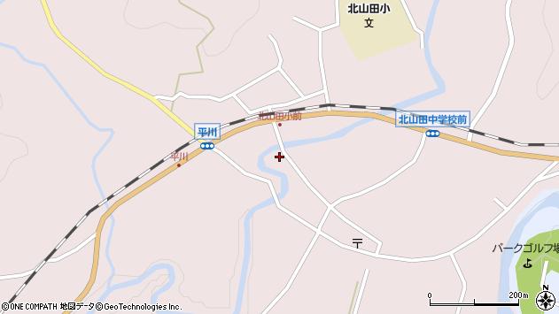 大分県玖珠郡玖珠町戸畑6397周辺の地図