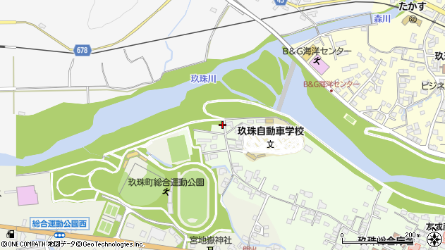 大分県玖珠郡玖珠町塚脇2270周辺の地図