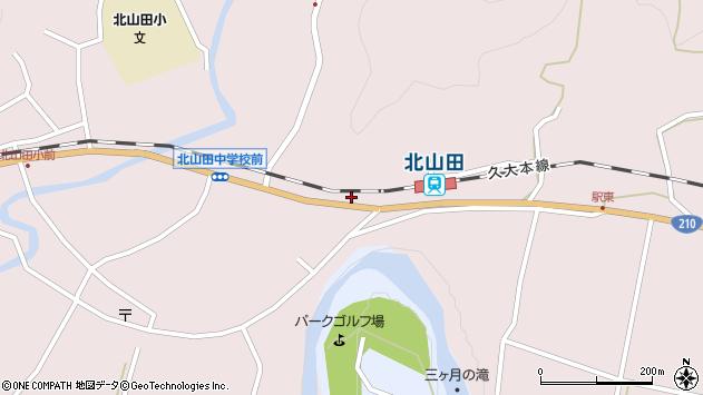 大分県玖珠郡玖珠町戸畑1743周辺の地図