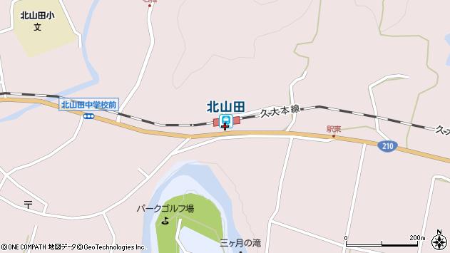 大分県玖珠郡玖珠町戸畑1663周辺の地図