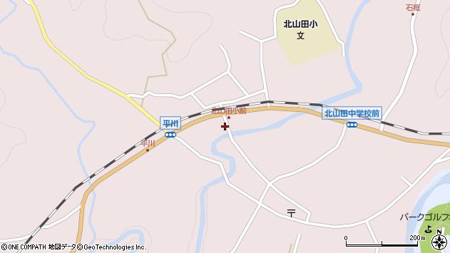 大分県玖珠郡玖珠町戸畑6363周辺の地図