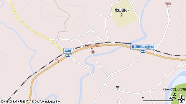 大分県玖珠郡玖珠町戸畑6365周辺の地図