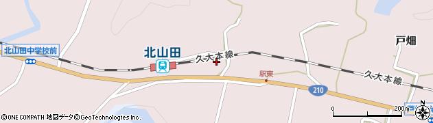 大分県玖珠郡玖珠町戸畑1674周辺の地図