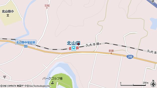 大分県玖珠郡玖珠町戸畑1690周辺の地図