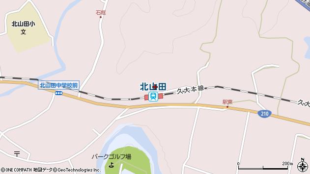 大分県玖珠郡玖珠町戸畑1689周辺の地図