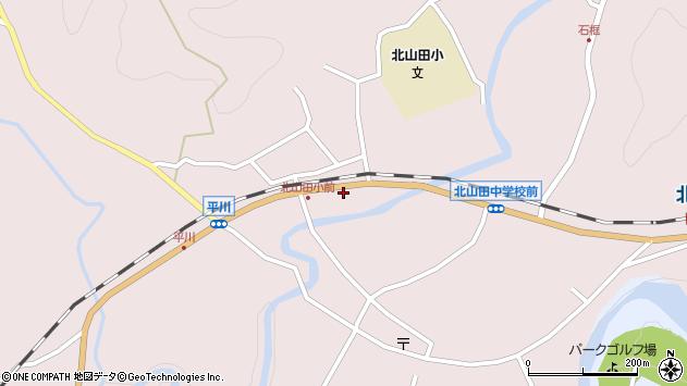 大分県玖珠郡玖珠町戸畑6374周辺の地図