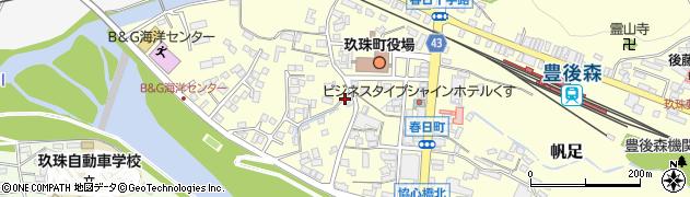 大分県玖珠郡玖珠町帆足312周辺の地図