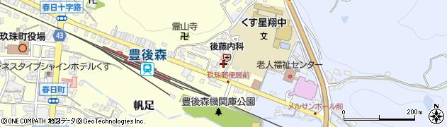 大分県玖珠郡玖珠町帆足473周辺の地図
