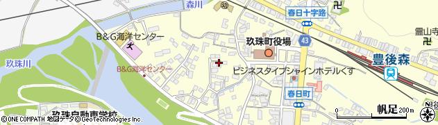 大分県玖珠郡玖珠町帆足281周辺の地図