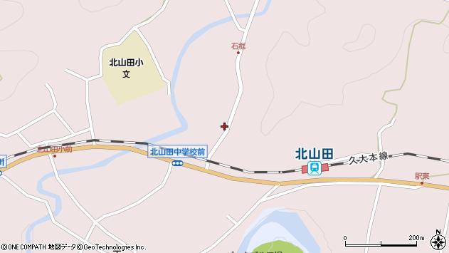 大分県玖珠郡玖珠町戸畑1808周辺の地図