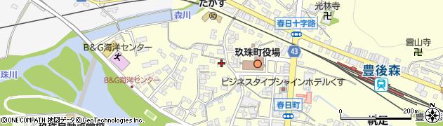 大分県玖珠郡玖珠町帆足279周辺の地図