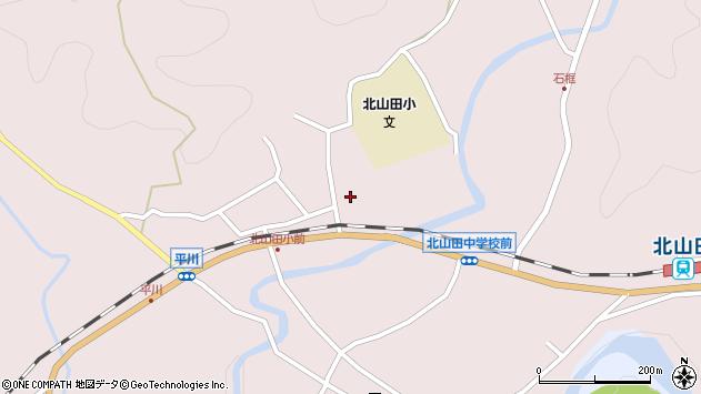 大分県玖珠郡玖珠町戸畑2888周辺の地図