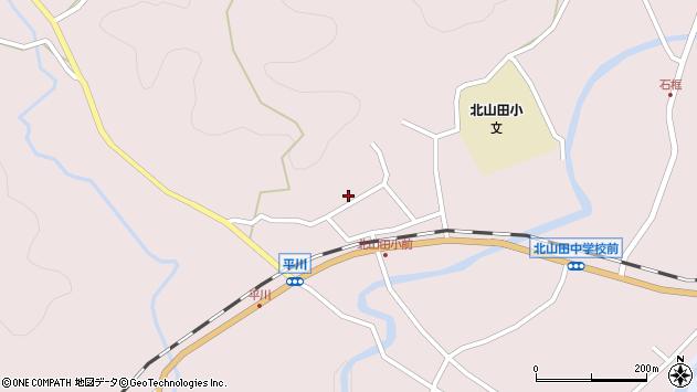 大分県玖珠郡玖珠町戸畑2925周辺の地図