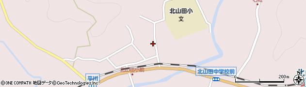 大分県玖珠郡玖珠町戸畑2899周辺の地図