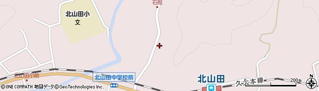 大分県玖珠郡玖珠町戸畑1801周辺の地図