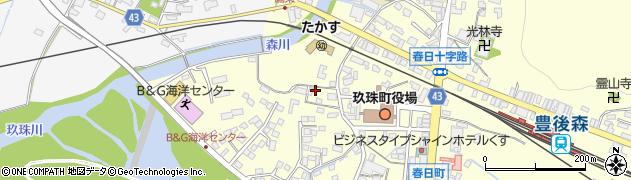 大分県玖珠郡玖珠町帆足272周辺の地図
